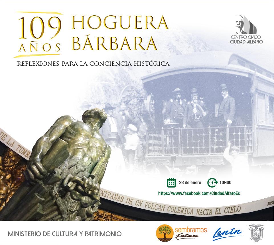 """""""Ciudad Alfaro conmemorará los 109 años de la 'Hoguera Bárbara"""""""