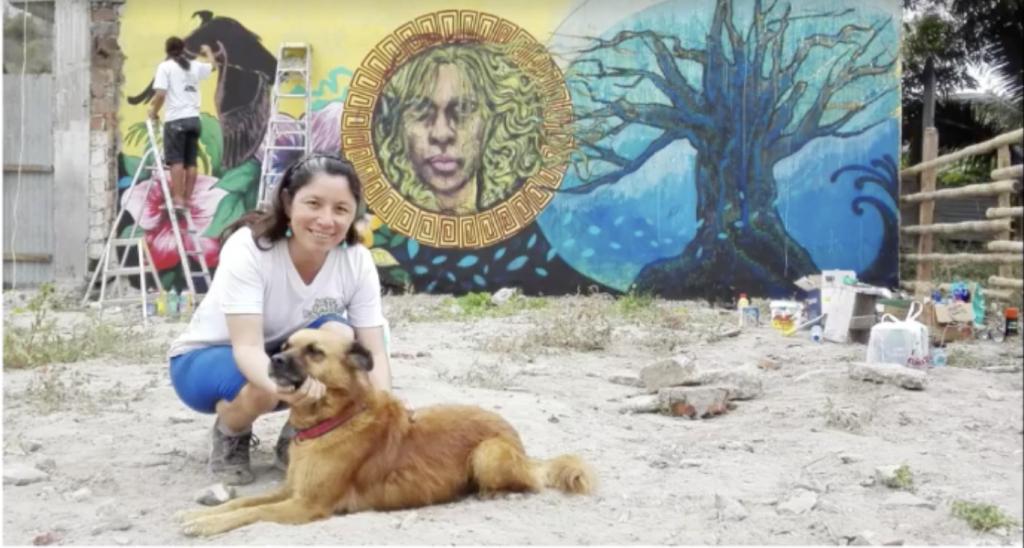 El proyecto 'Arte sobre escombros' revivió el fatídico terremoto del 16 Abril